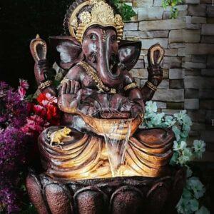 Fibre Ganesha Fountain